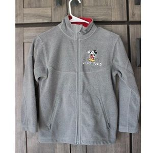 Disney parks kids medium zip jacket